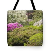 Asticou Azelea Garden - Northeast Harbor - Mount Desert Island - Maine Tote Bag by Keith Webber Jr