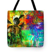 At The Carnival Tote Bag by Angela L Walker