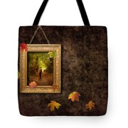 Autumn Frame Tote Bag by Amanda And Christopher Elwell