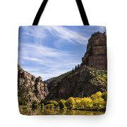 Autumn In Glenwood Canyon - Colorado Tote Bag by Brian Harig