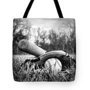 Backyard Baseball Memories Tote Bag by Cricket Hackmann