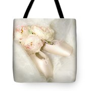 Ballet Shoes Tote Bag by Theresa Tahara