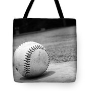 Baseball Tote Bag by Kelly Hazel