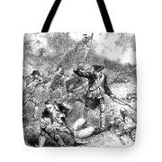 Battle Of Bunker Hill, 1775 Tote Bag by Granger