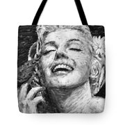 beautifully happy Tote Bag by ATIKETTA SANGASAENG