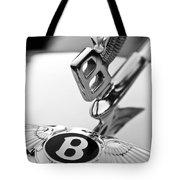 Bentley Hood Ornament Tote Bag by Jill Reger