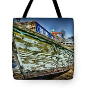Boat Forever Dry Docked Tote Bag by Paul Ward