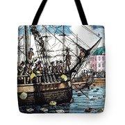 Boston Tea Party, 1773 Tote Bag by Granger