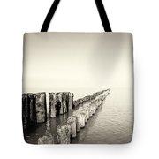 Breakwaters Tote Bag by Wim Lanclus