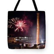 Bull Durham Fireworks Tote Bag by Jh Photos
