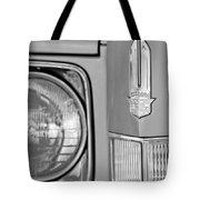 Cadillac Headlight Emblem Tote Bag by Jill Reger