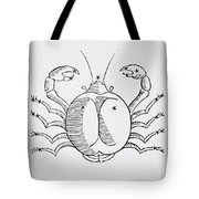 Cancer An Illustration Tote Bag by Italian School
