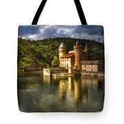 Chateau De La Roche Tote Bag by Debra and Dave Vanderlaan