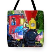 Chugging Along Tote Bag by Geoff Crego