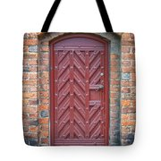 Church Door 02 Tote Bag by Antony McAulay