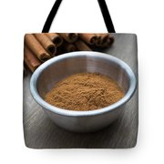Cinnamon Spice Tote Bag by Edward Fielding