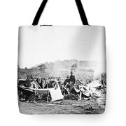 CIVIL WAR: WOUNDED, 1862 Tote Bag by Granger