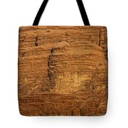 Close Up Of A Rocky Outcrop At Wadi Rum In Jordan Tote Bag by Robert Preston