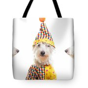 Clowning Around Tote Bag by Edward Fielding