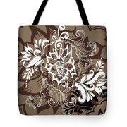 Coffee Flowers 10 Tote Bag by Angelina Vick