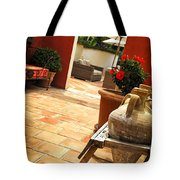 Courtyard Of A Villa Tote Bag by Elena Elisseeva