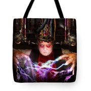 Cyberpunk - Mad Skills Tote Bag by Mike Savad