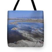 Dead Sea Landscape Tote Bag by Dan Yeger
