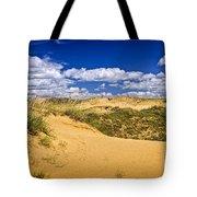 Desert Landscape In Manitoba Tote Bag by Elena Elisseeva