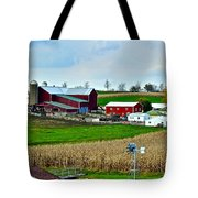 Down on the Farm Tote Bag by Frozen in Time Fine Art Photography