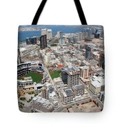 Downtown San Diego Tote Bag by Bill Cobb
