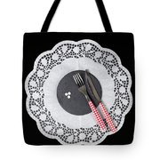 Eating Pills Tote Bag by Joana Kruse