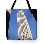 Empire State Building Tote Bag by Jon Neidert