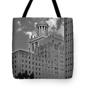 Esperson Buildings Houston Tx Tote Bag by Christine Till