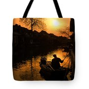 Fisherman Tote Bag by Yew Kwang