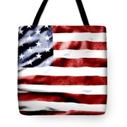 Flag Tote Bag by Les Cunliffe