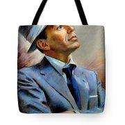 Frank Sinatra  Tote Bag by Ylli Haruni