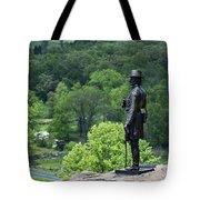 General Warren At Little Round Top Tote Bag by John Greim