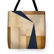 Geometry Indigo Number 5 Tote Bag by Carol Leigh