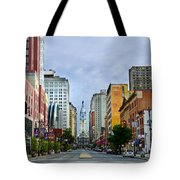 Give My Regards to Broad Street Tote Bag by Bill Cannon