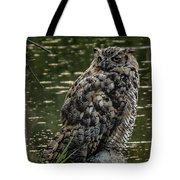 Great Horned Owl Tote Bag by Ernie Echols