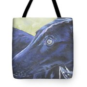 Greyhound Tote Bag by Lee Ann Shepard