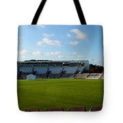 Hampshire County Cricket Ground Tote Bag by Terri  Waters