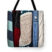 Hanging Clothes Tote Bag by Tom Gowanlock