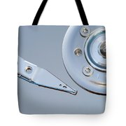 Hard Disc Tote Bag by Michal Boubin