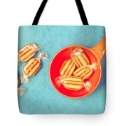 Humbug Sweets Tote Bag by Tom Gowanlock