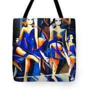 In Time Tote Bag by Georg Douglas