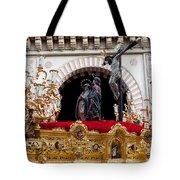 Jesus Christ On The Cross In Cordoba Tote Bag by Artur Bogacki