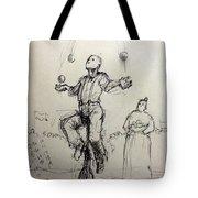 Juggler Tote Bag by H James Hoff