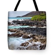 Keanae Lava Rock Tote Bag by Jenna Szerlag