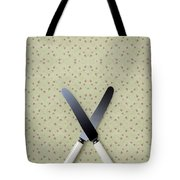 Knives Tote Bag by Joana Kruse